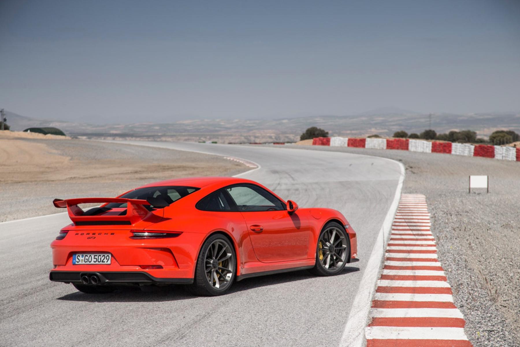 Porsche 911 GT3 Lava Orange , The new Porsche 911 GT3