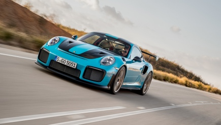 911 Gt2 Rs Miami Blue The New Porsche 911 Gt2 Rs