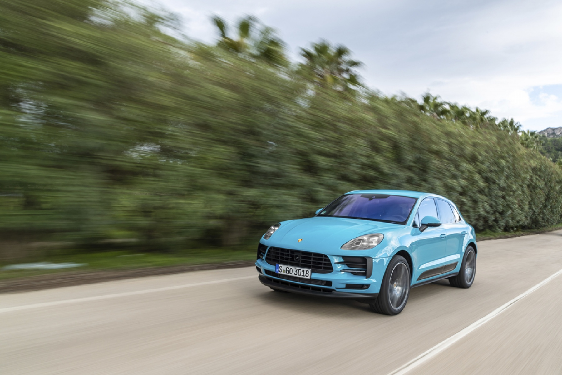 Macan Miami Blue The New Macan
