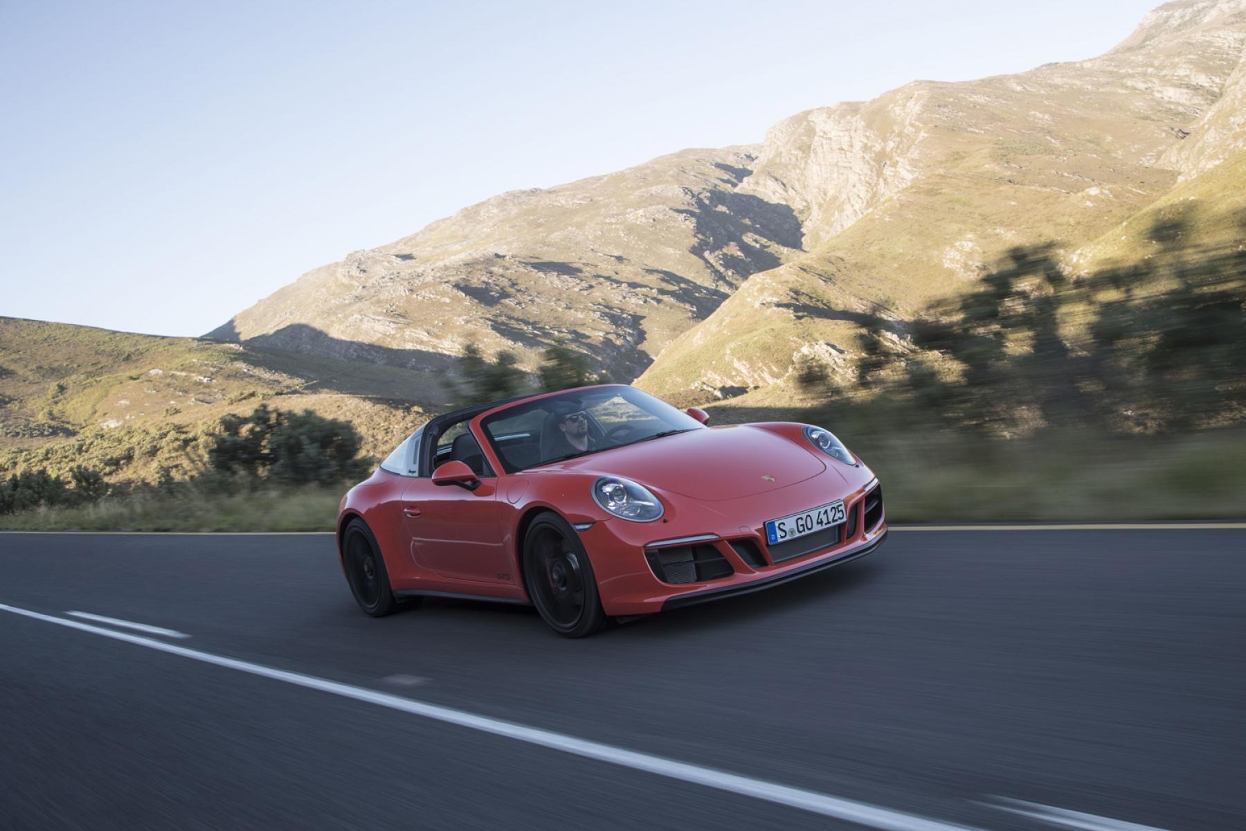 Porsche 911 Targa 4 Gts Lava Orange The New 911 Gts Models