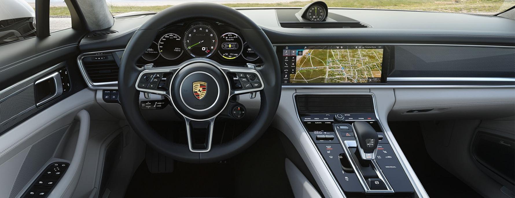 Conceito Do Interior E Conectividade Panamera Turbo S E Hybrid Sport Turismo