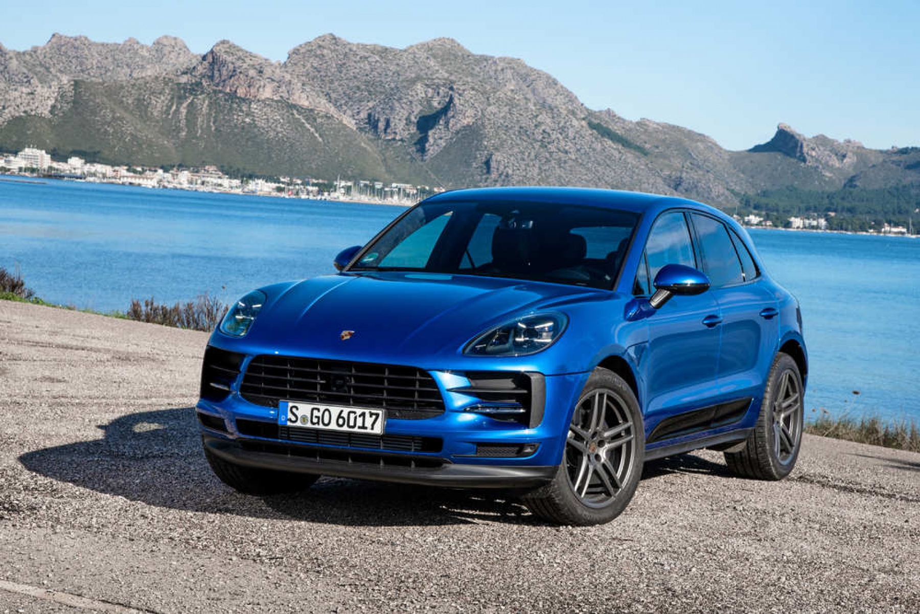 Macan Sapphire Blue Metallic The New Macan
