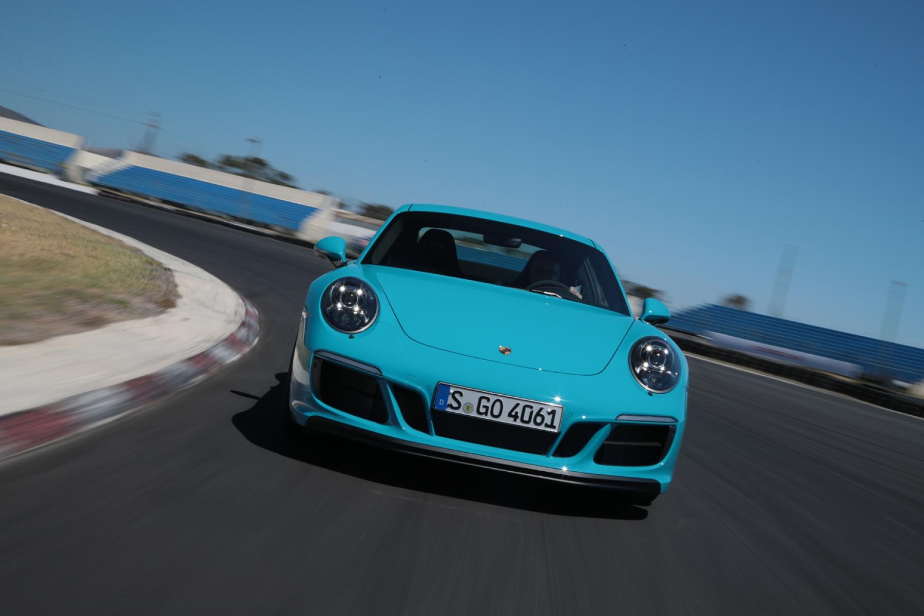 Porsche 911 Carrera Gts Coupé Miami Blue The New 911 Gts