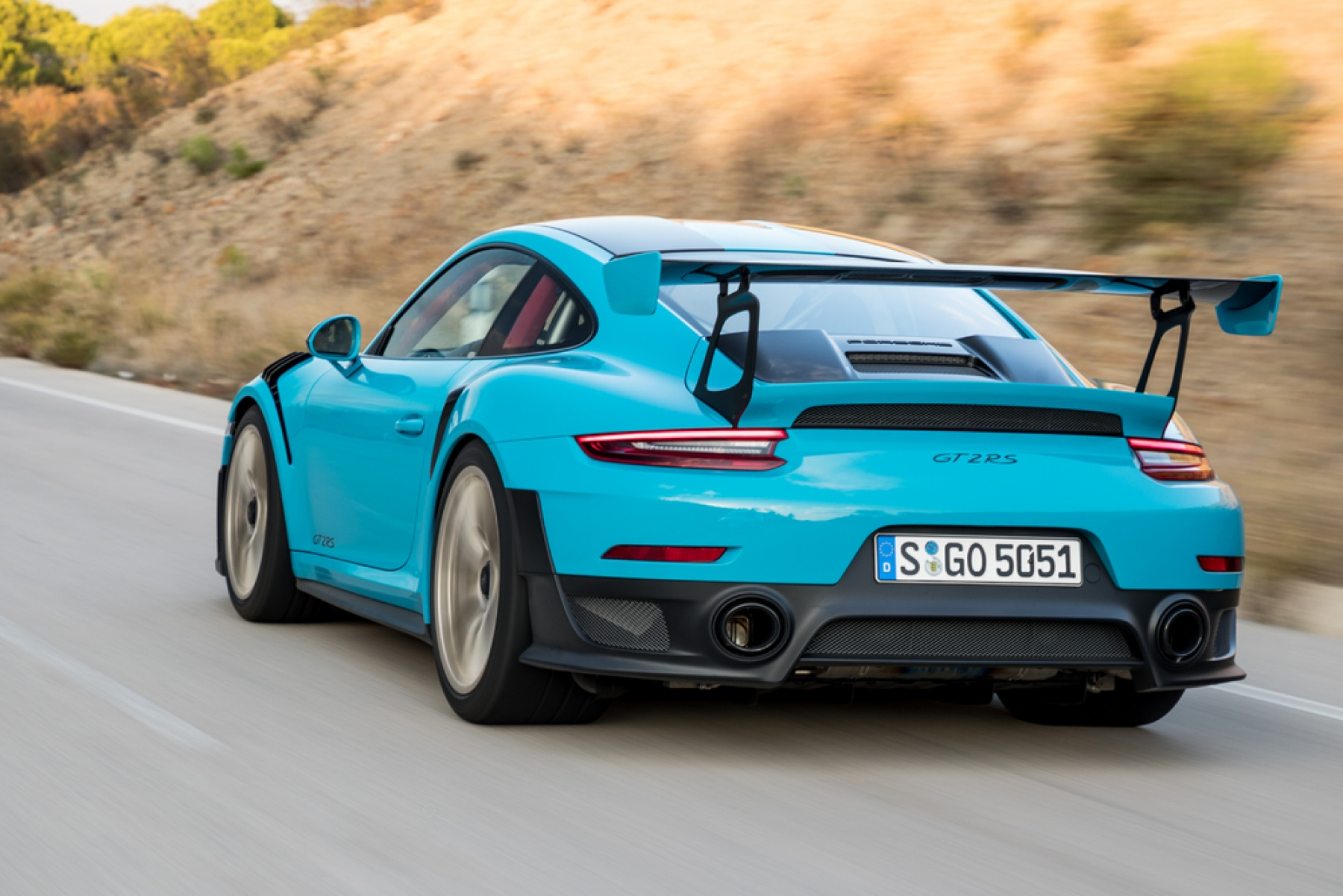 911 gt2 rs miami blue the new porsche 911 gt2 rs. Black Bedroom Furniture Sets. Home Design Ideas