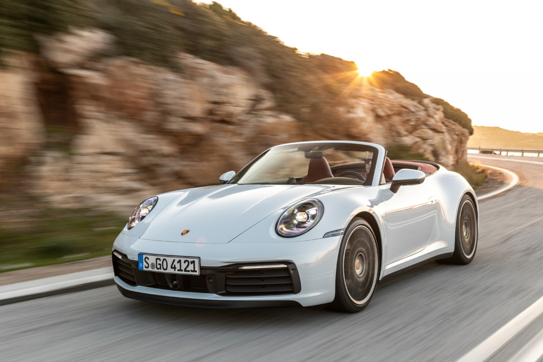 911 Carrera 4s Cabriolet Carrara White Metallic S Go 4121 O Porsche 911 Carrera Cabriolet
