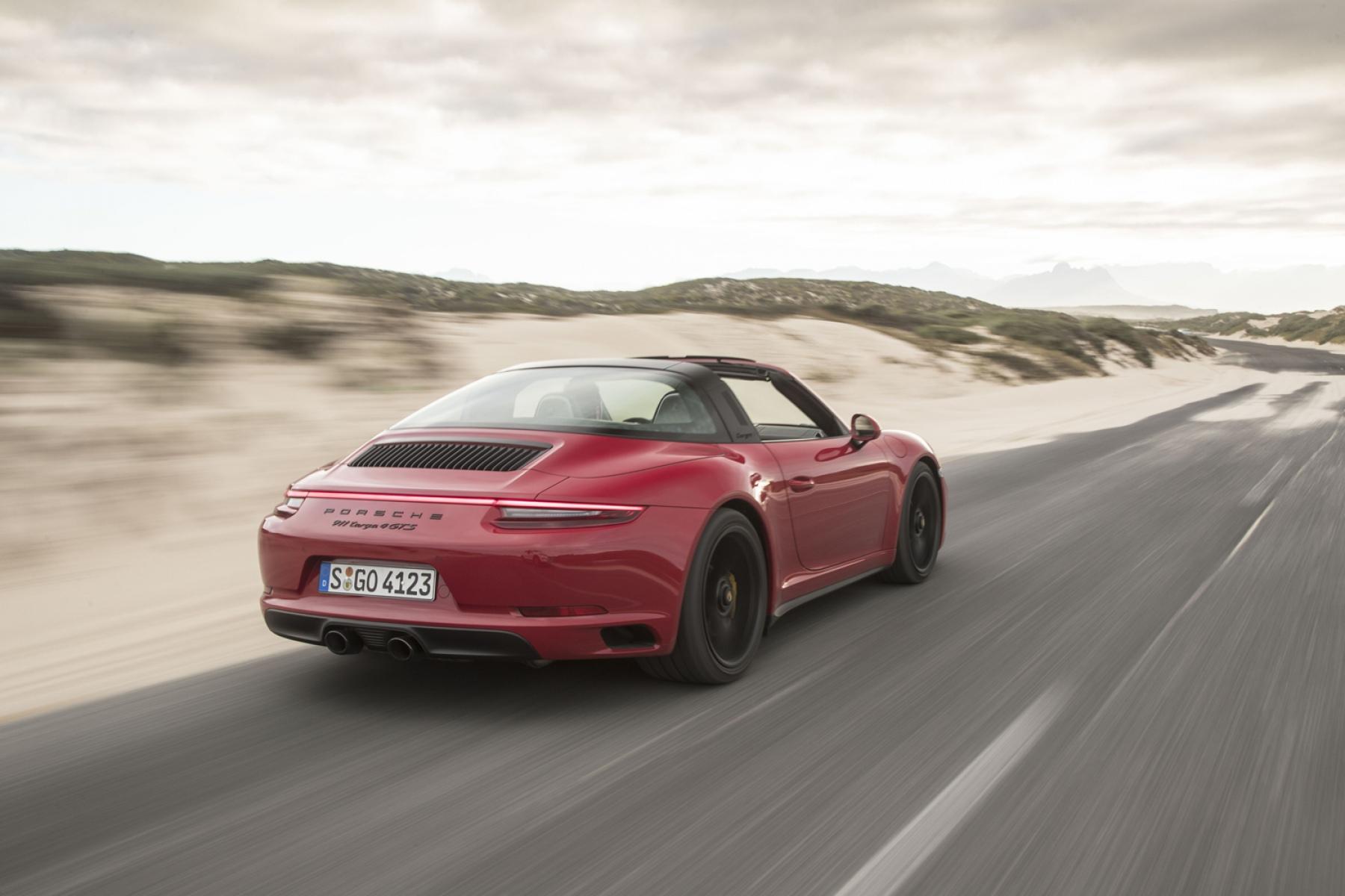Porsche 911 Targa 4 Gts Carmine Red The New 911 Gts Models