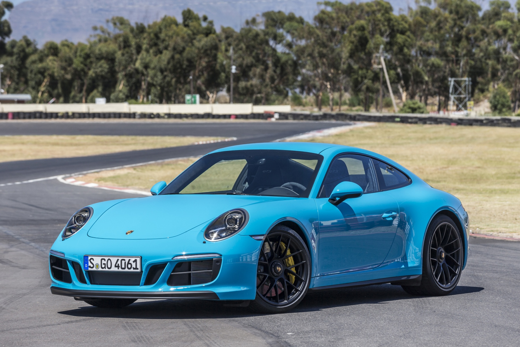 Porsche 911 Carrera Gts Coup 233 Miami Blue The New 911 Gts Models