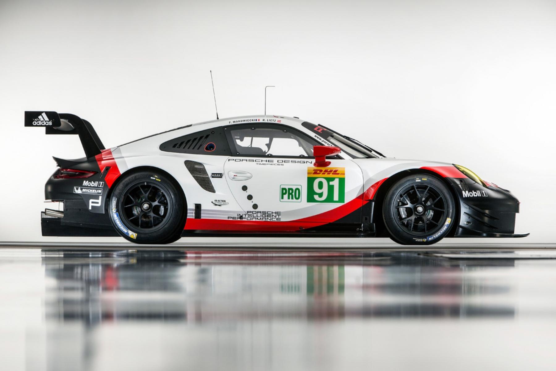 Porsche 911 Rsr Motorsport Media Guide 2017