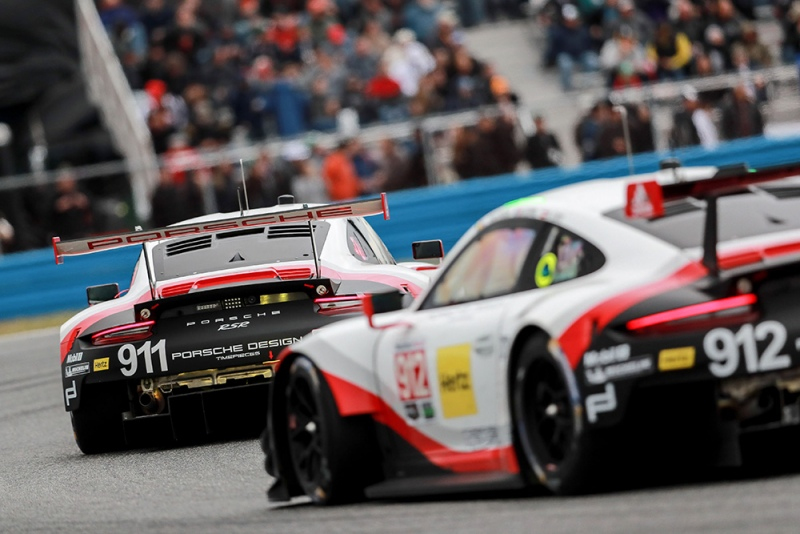 Porsche Tackles Two Top League GT Racing Series With The New 911 RSR In  2017: In The Sports Car World Endurance Championship WEC, Including The Le  Mans ...