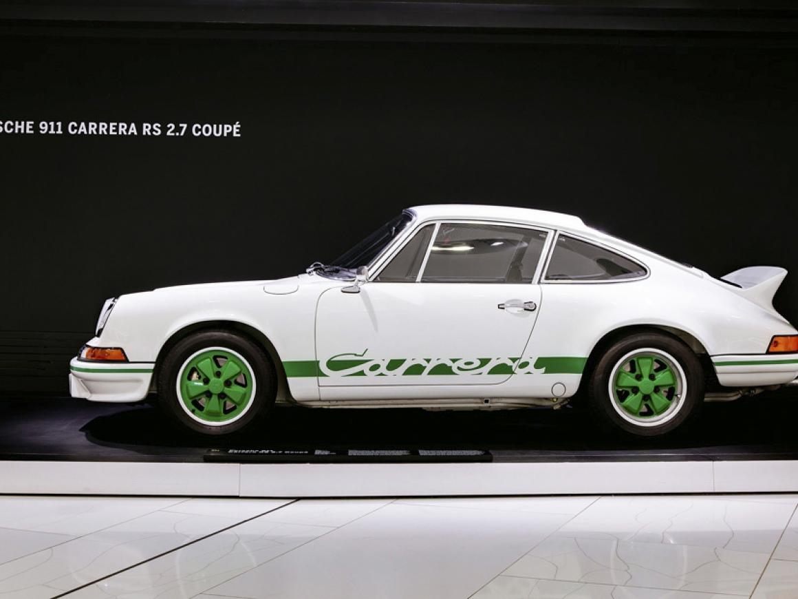 Porsche 911 Carrera Rs 2 7 Coupe 1973 Porsche Museum