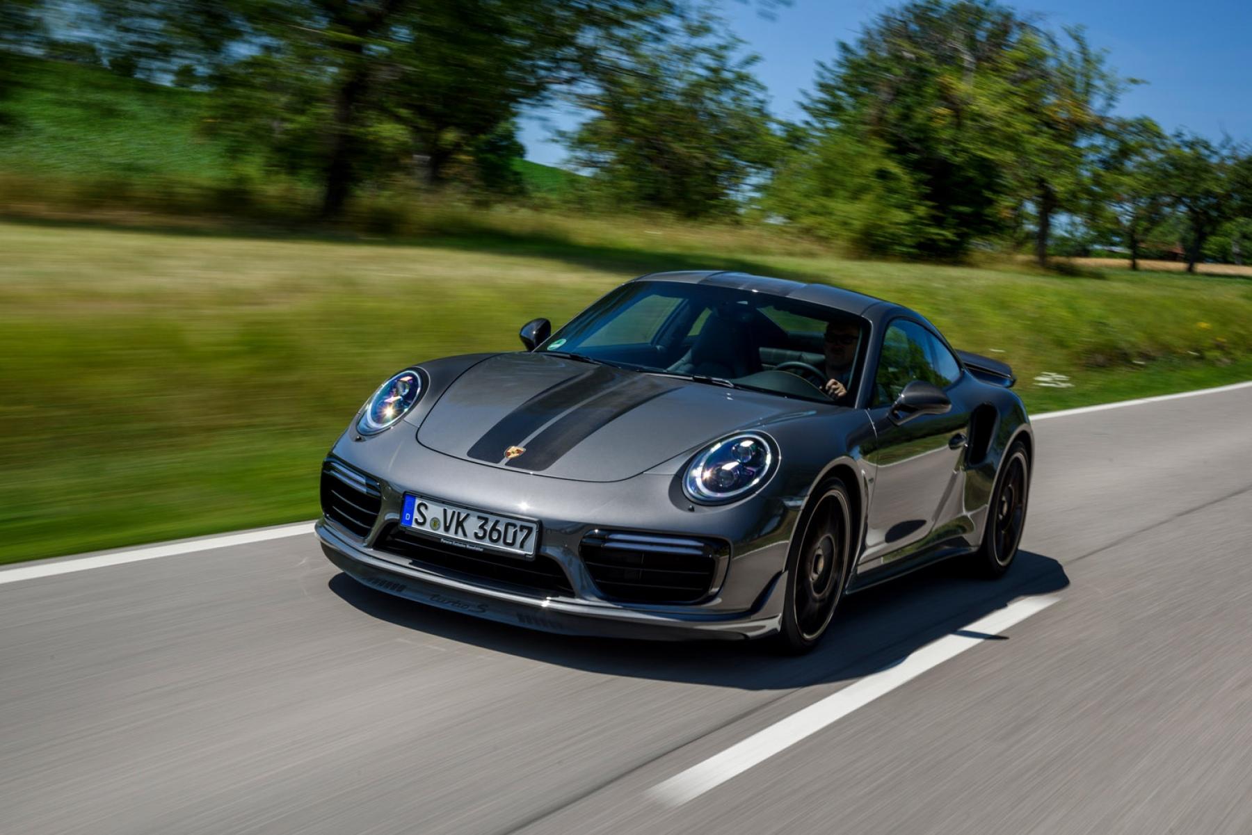 911 Turbo S Exclusive Series Agate Grey Metallic Porsche