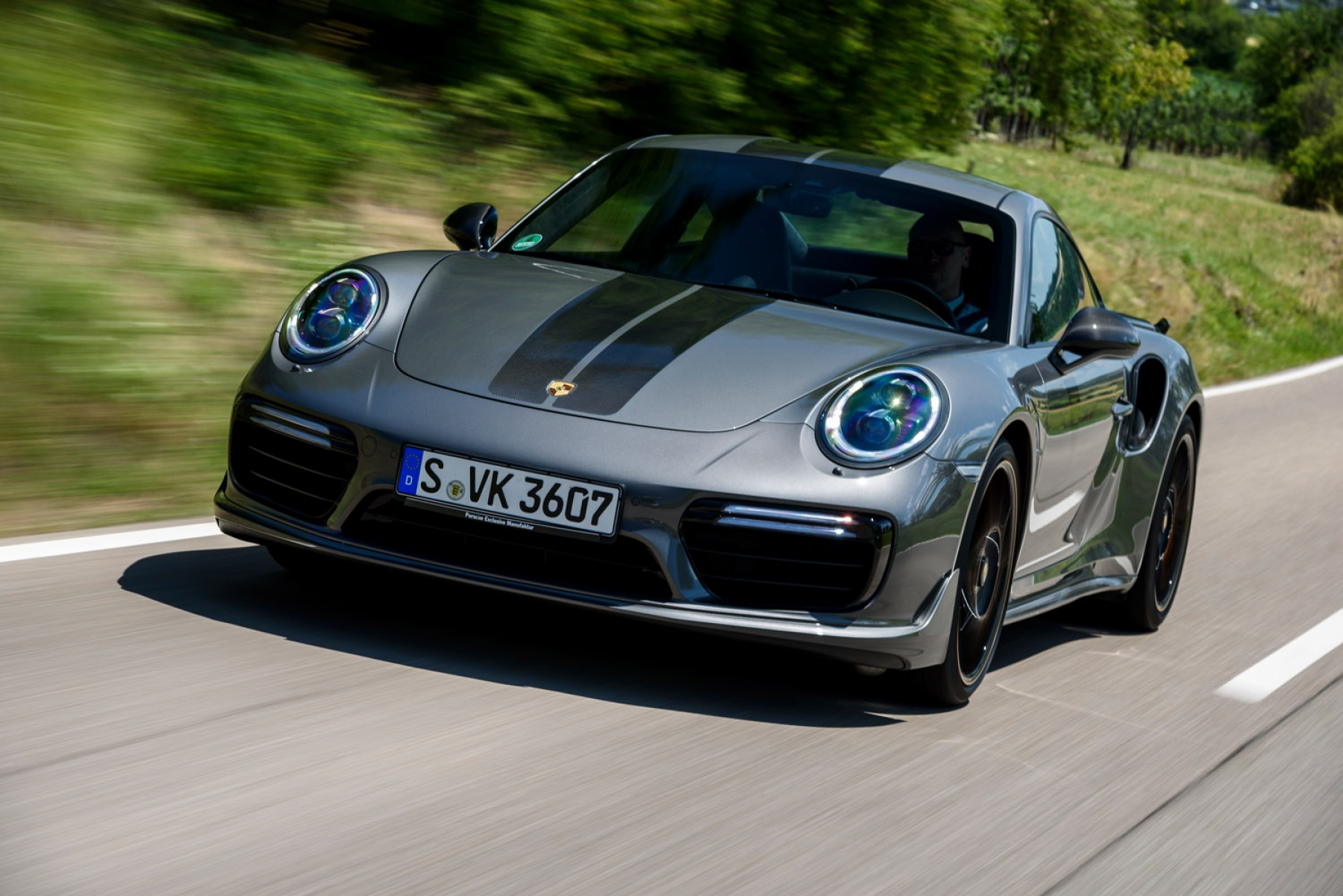 911 Turbo S Exclusive Series Agate Grey Metallic Porsche