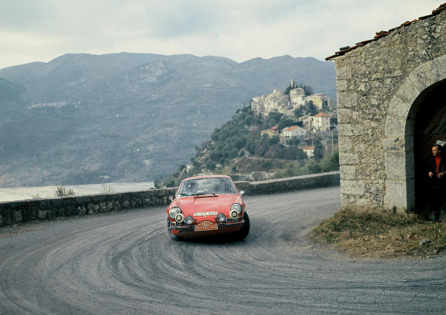 Porsche At The Monte Carlo Rally Porsche 911 Carrera T