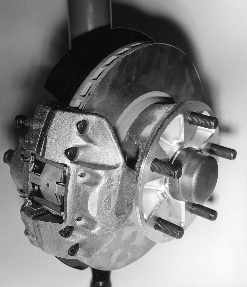 1966 Internally Ventilated Disc Brakes Production Anniversary Of