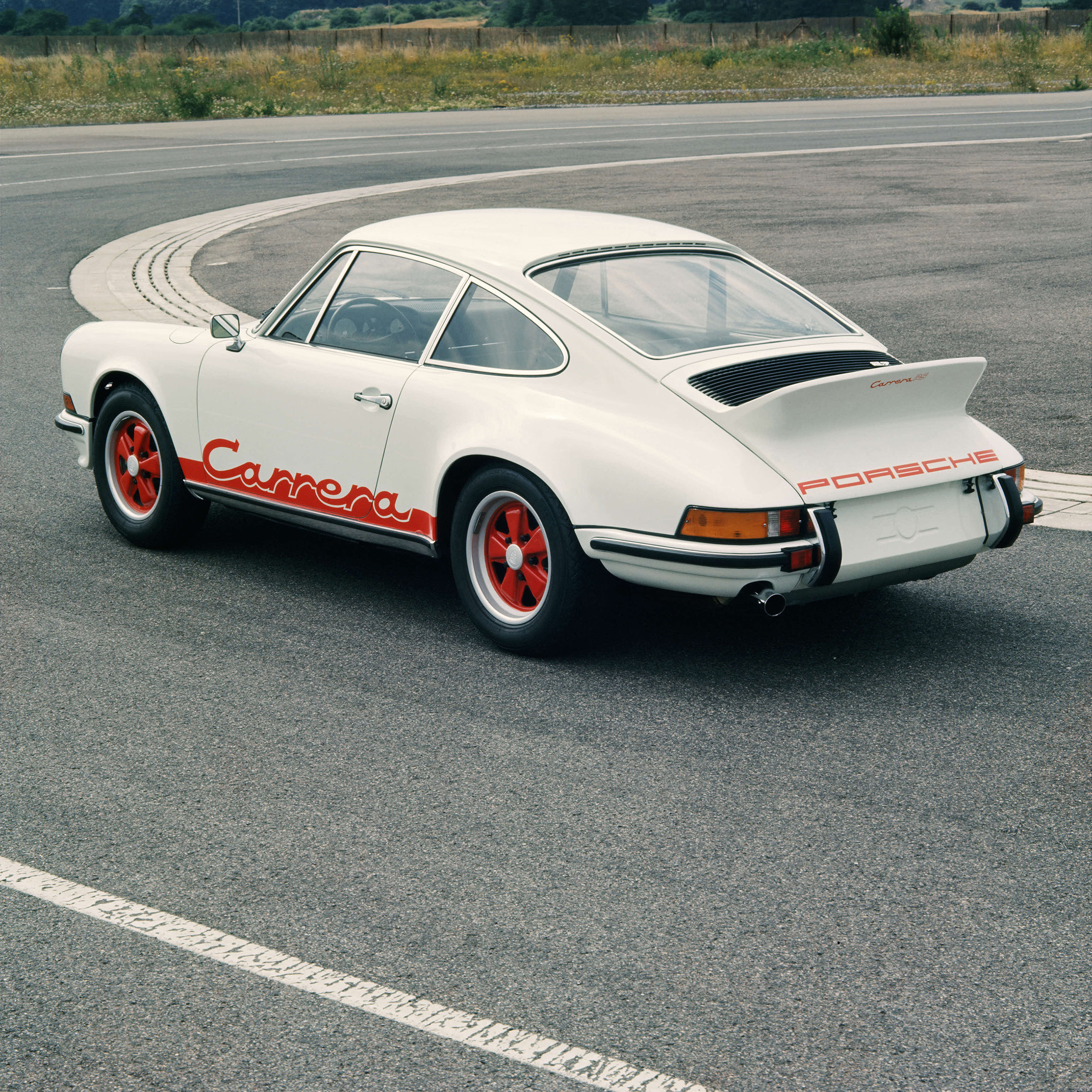 1972 Front And Rear Spoilers Production Anniversary Of The Porsche 911