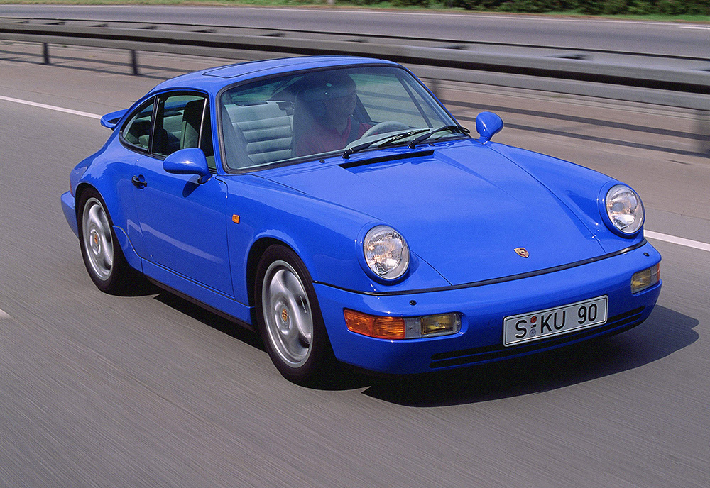 1988 The 964 Introduces All Wheel Drive Production