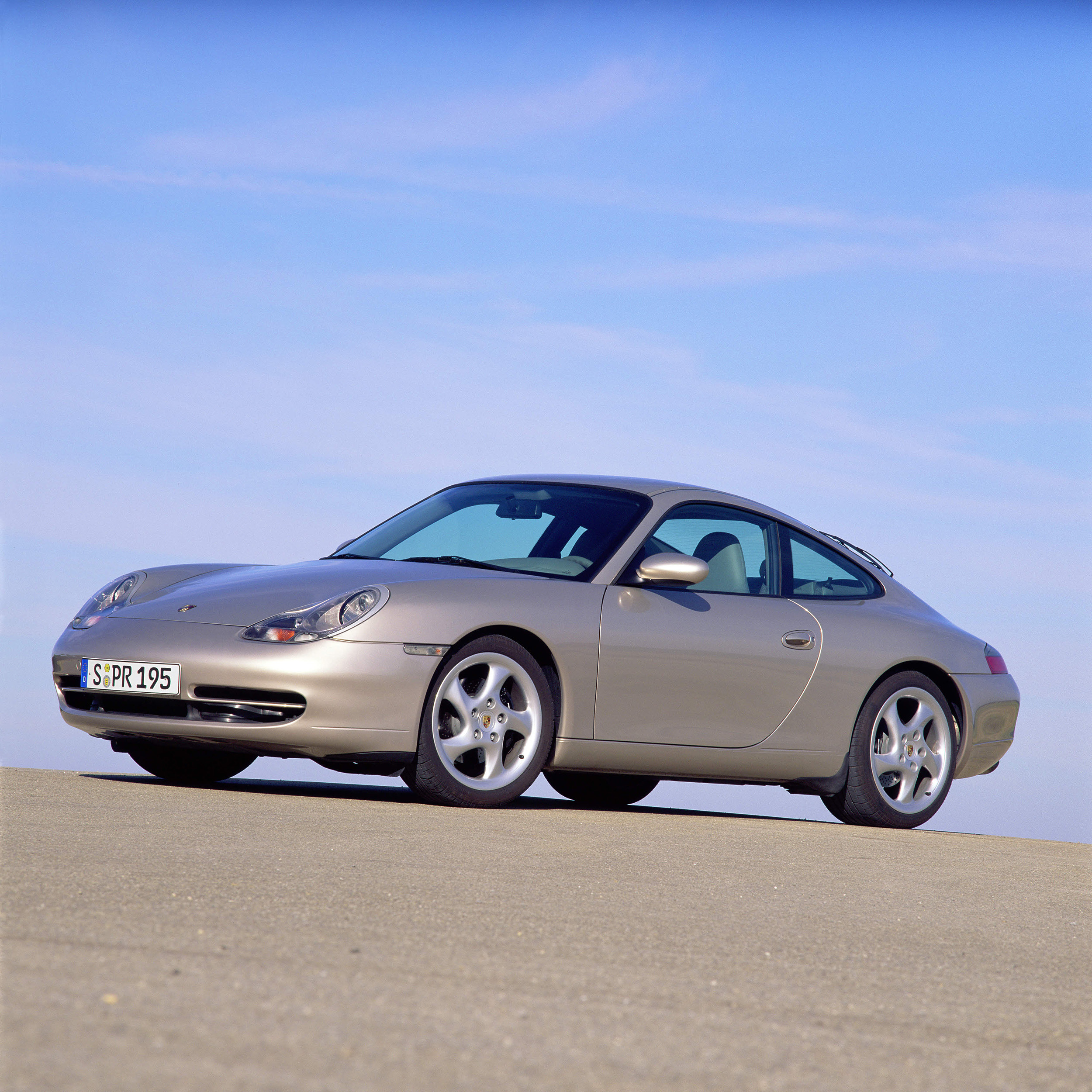 1995 Porsche 911 Exterior: 1997: The 996 With Water Cooling